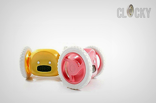 clocky-catch-me alarm clock