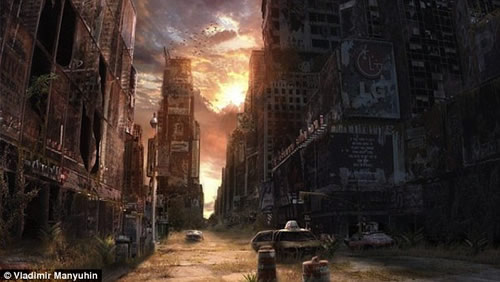 Life after the Apocalypse by Vladimir Manyuhin