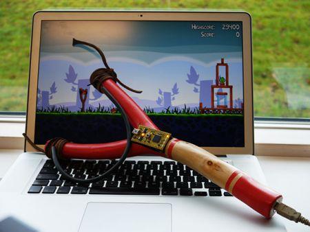USB Slingshot for Angry Birds