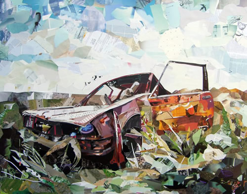 College Car Crash by Patrick Bremer 1
