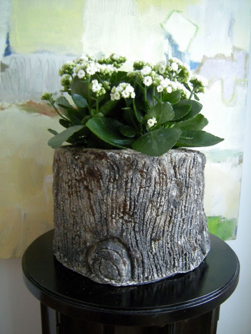 Cool Tree Stump Vases You Can Make By Yourself Allgamein
