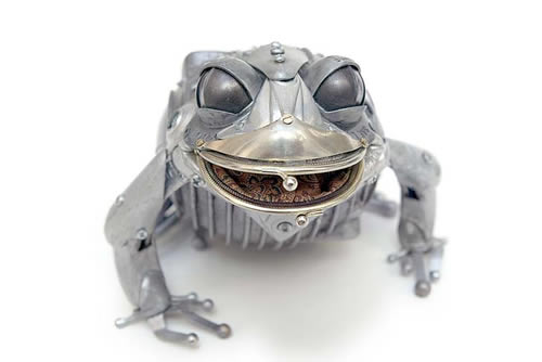 Edouard-Martinet-Recycled-Bikes-Metal-Animal-Sculptures