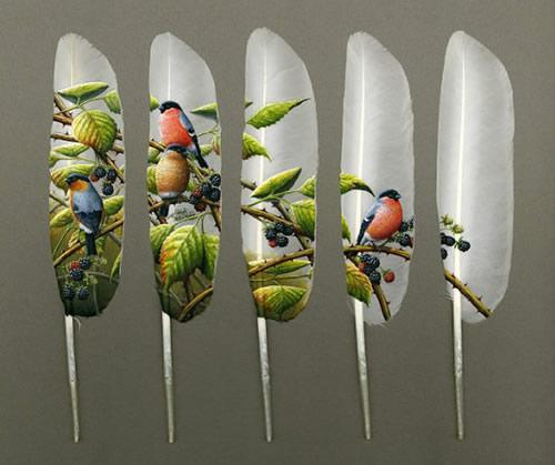 feather art by ian_davie 2