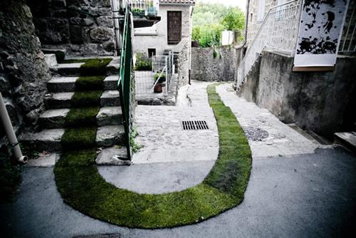 Gaelle Villedary's Green Carpet 1
