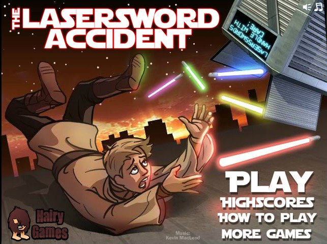 Action Games---The Lasersword Accident