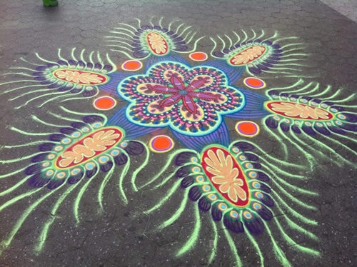 Colorful Sand Mandalas By Joe Mangrum