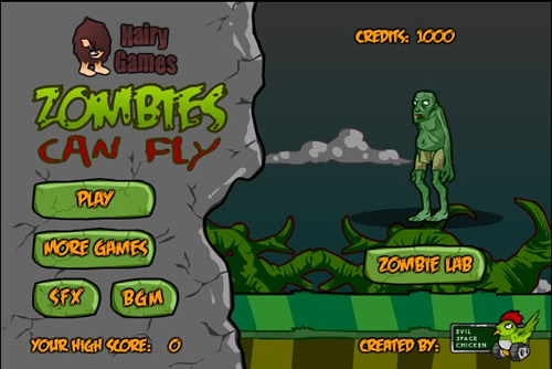 zombies can fly 1